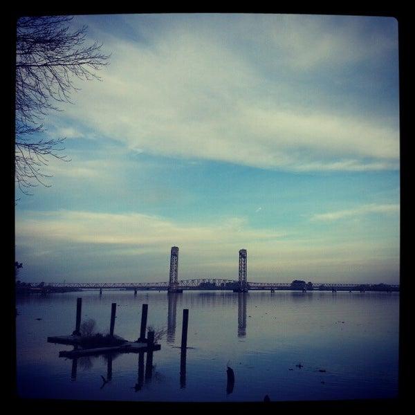 Photo taken at Rio Vista Bridge by Anthony C. on 1/8/2013