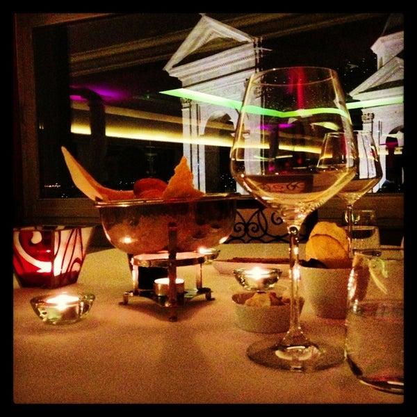 Photo taken at Imago Restaurant by Fulya O. on 2/10/2013