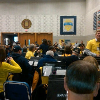Photo taken at Revelli Hall by Dave W. on 10/13/2012