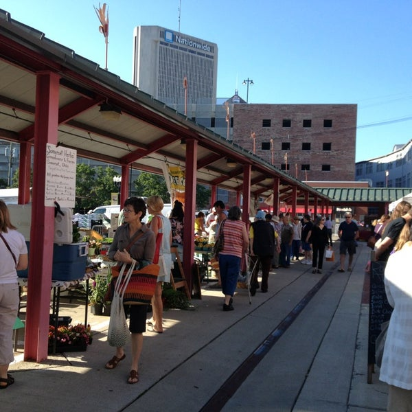 Photo taken at North Market by Nancy L. on 7/13/2013