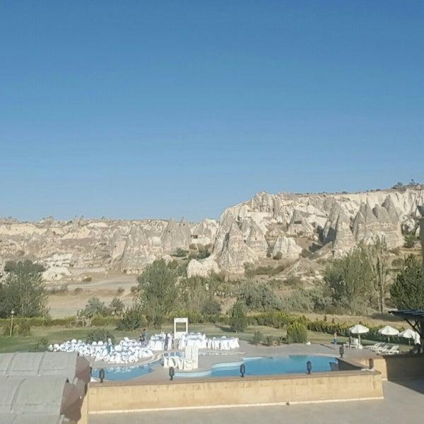 8/24/2018 tarihinde Goksel E.ziyaretçi tarafından Tourist Hotels & Resorts Cappadocia'de çekilen fotoğraf