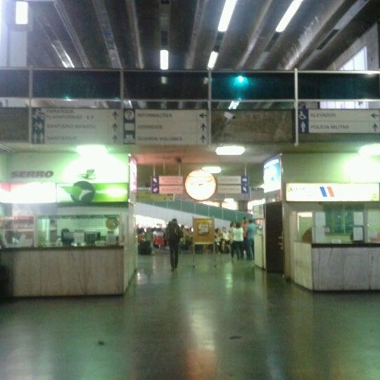 Photo taken at Terminal Rodoviário Governador Israel Pinheiro by Nathan M. on 11/16/2012