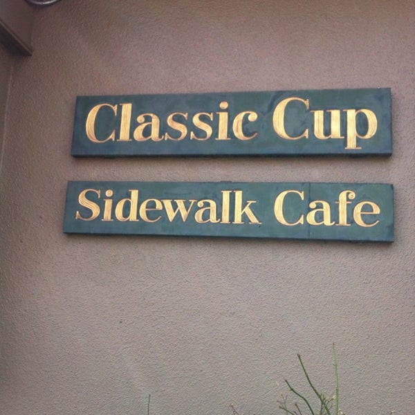 Photo taken at Classic Cup Café by Brenda V. on 4/13/2013