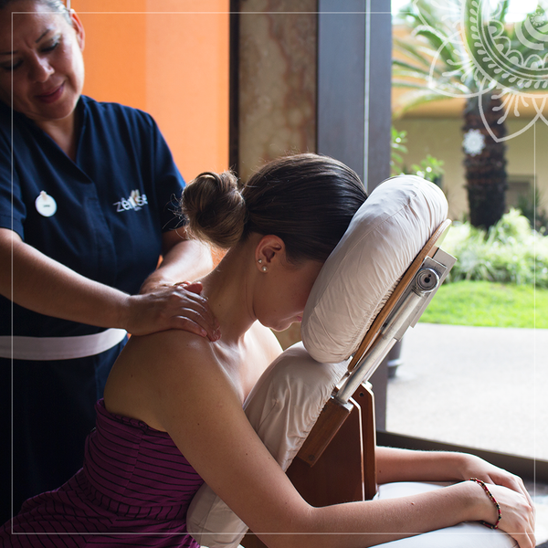 Let us pamper you with a relaxing welcome masage