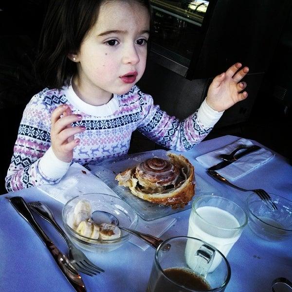 Photo taken at La Maison Bakery and Cafe by Elena M. on 1/5/2014