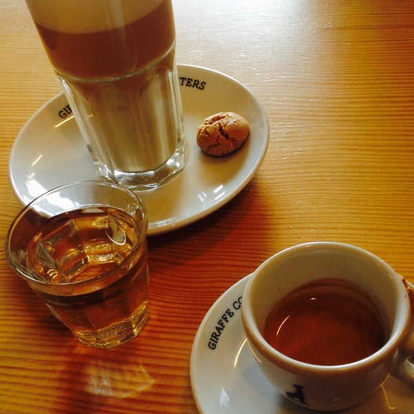 Photo taken at Lokaal Espresso by Rachel V. on 9/2/2015