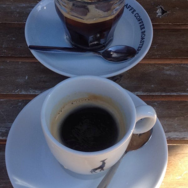Photo taken at Lokaal Espresso by Rachel V. on 9/12/2016