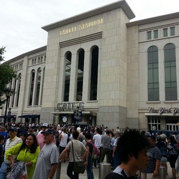 Photo taken at Yankee Stadium by James W. on 7/28/2013