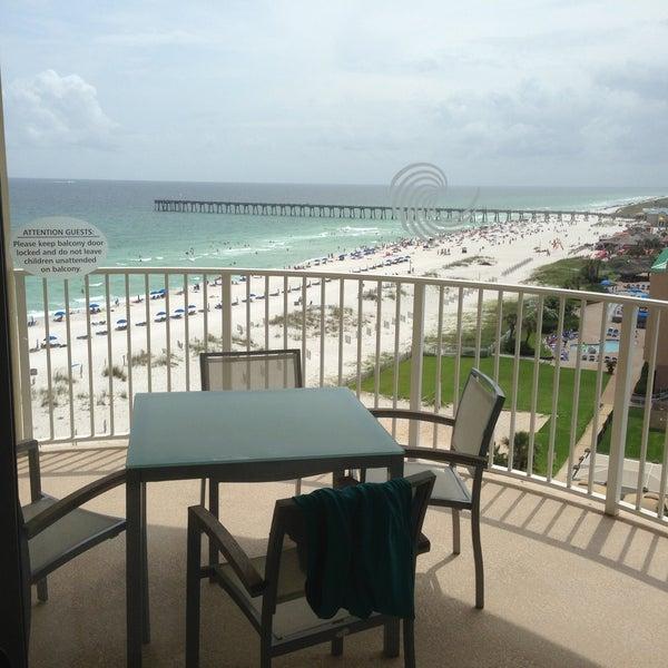 Photo taken at Hilton Pensacola Beach by Kenneth J. on 6/23/2013