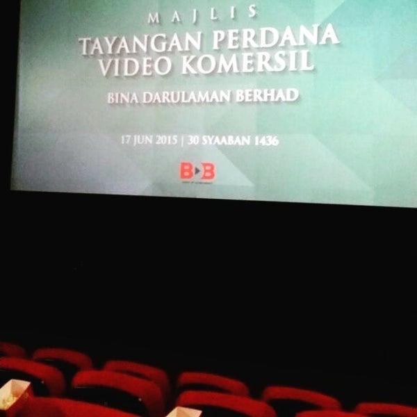 Photo taken at Big Cinemas by Kasorrga D. on 6/17/2015