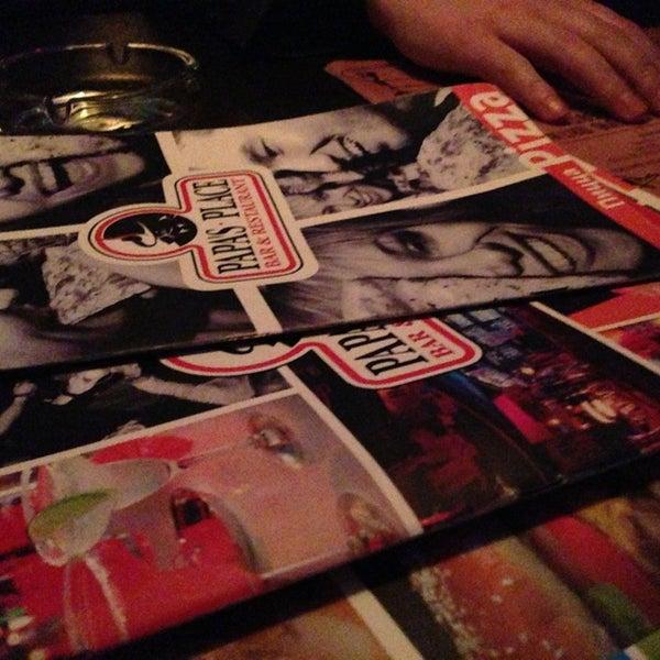 Снимок сделан в Papa's Bar & Grill пользователем Anastasia P. 3/26/2013