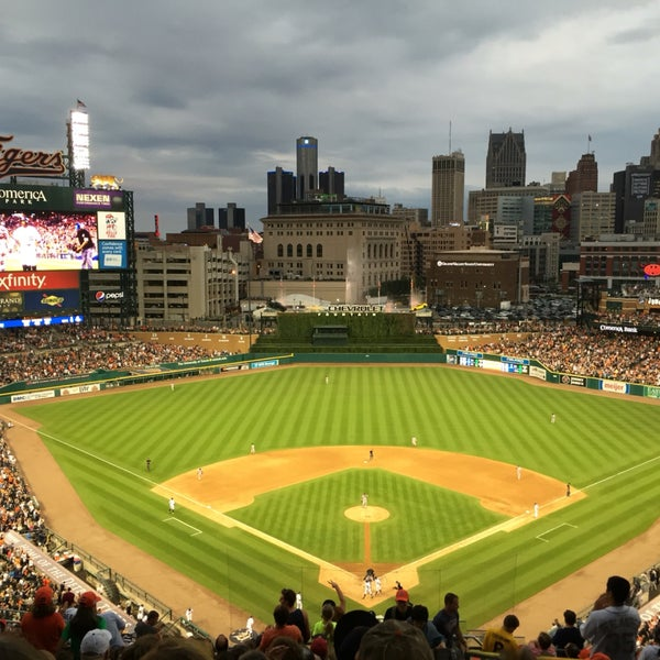 Beautiful stadium with great views from everywhere. Eat em up Tigers