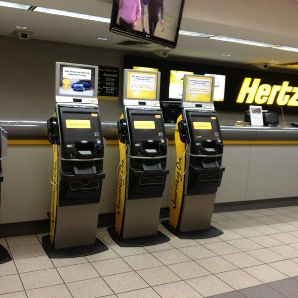 Newark Airport Rental Car Hertz