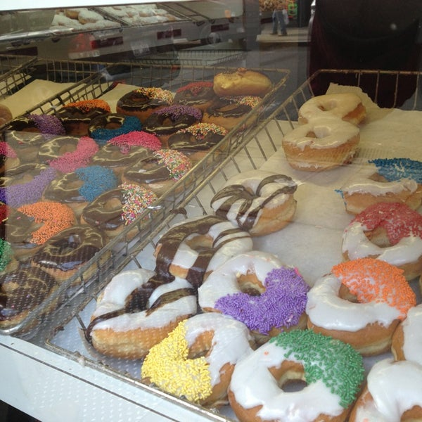 Photo taken at Peter Pan Donut & Pastry Shop by Anna D. on 3/30/2013