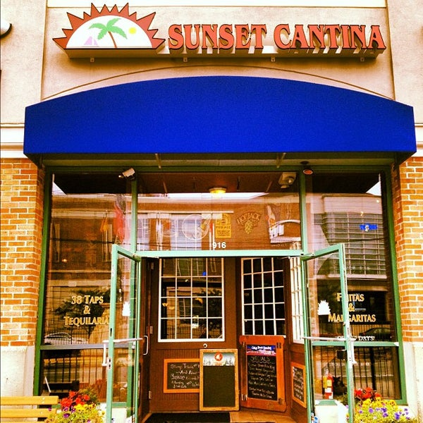Photo taken at Sunset Cantina by Aline M. on 9/29/2012