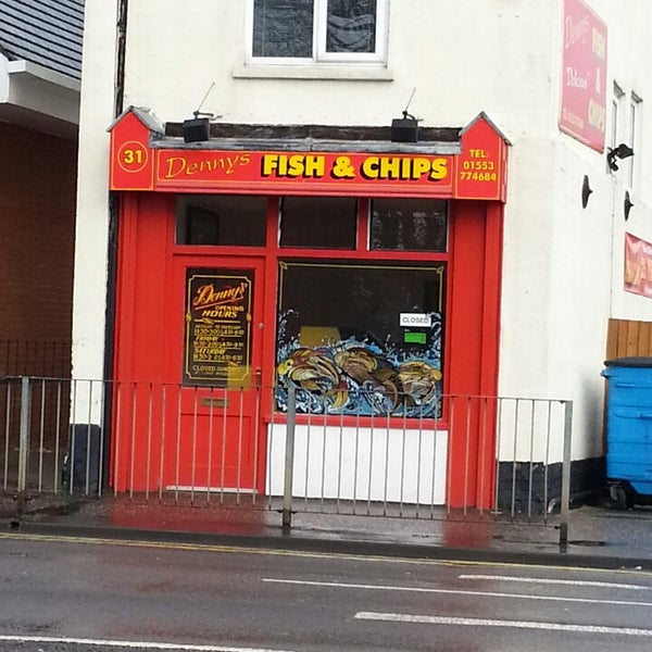 Dennys - Fish & Chips Shop in Kings Lynn