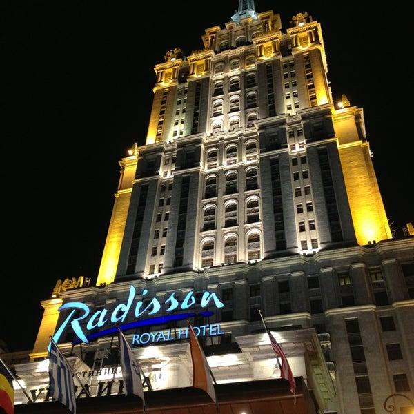 Photo taken at Radisson Royal Hotel by Bulat V. on 6/6/2013