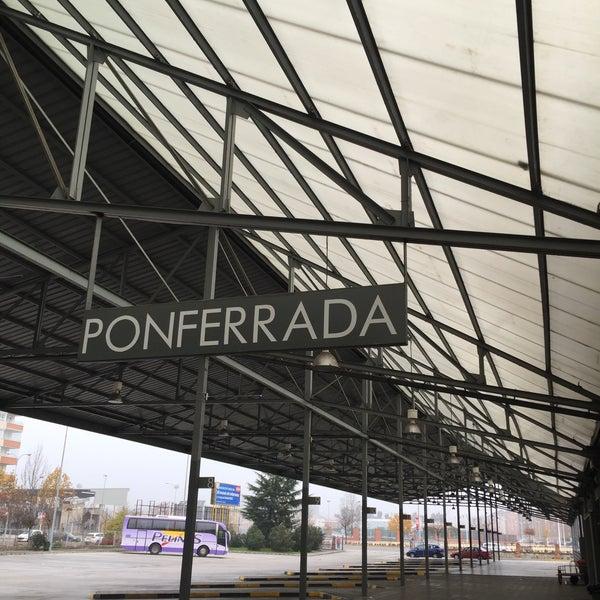 Photo taken at Estación Autobuses de Ponferrada by Svetlana G. on 12/11/2015