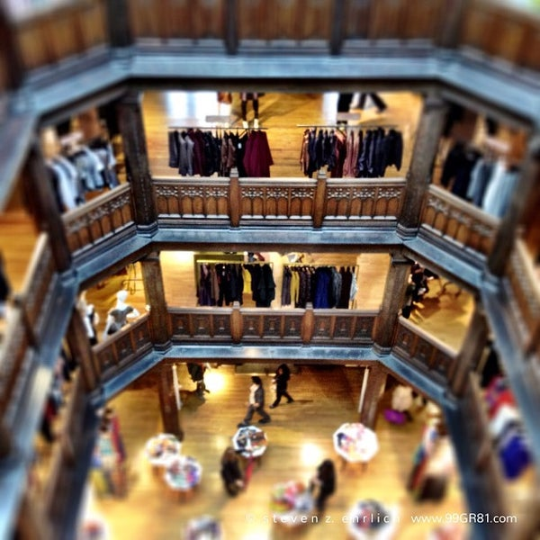 Photo taken at Liberty of London by Steven E. on 10/1/2012