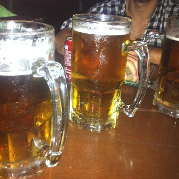 Photo taken at Dublin's Irish Pub by Vinicius B. on 6/8/2013