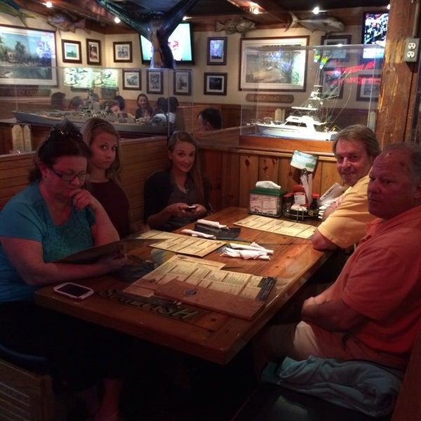 Photo taken at Quarterdeck Restaurant by Lizz G. on 1/5/2014