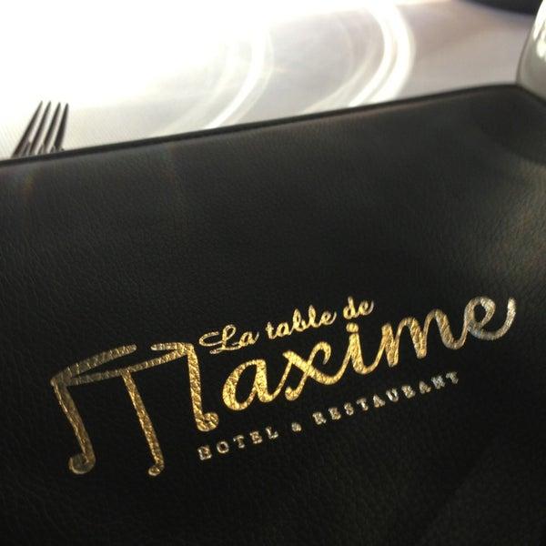 La table de maxime our 23 for La table de maxime