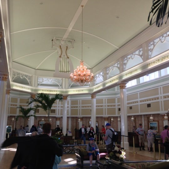 Photo taken at Disney's Port Orleans Riverside Resort by Marc L. on 11/9/2012