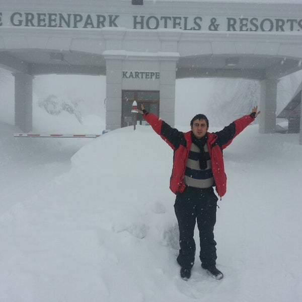 Foto tomada en The Green Park Kartepe Resort & Spa  por Murat S. el 2/22/2013