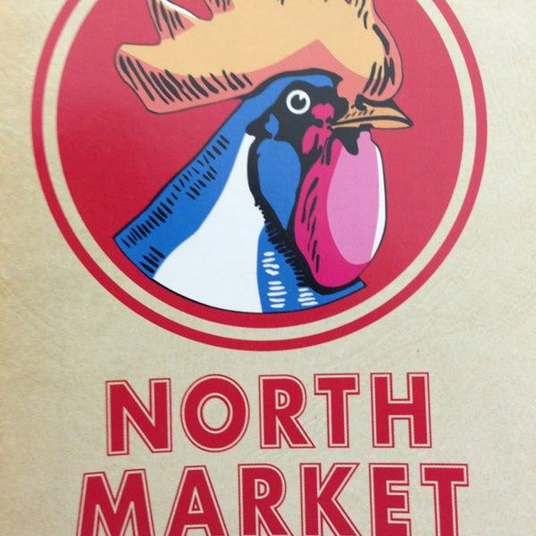 Photo taken at North Market by M Jo Ellen K. on 3/4/2013