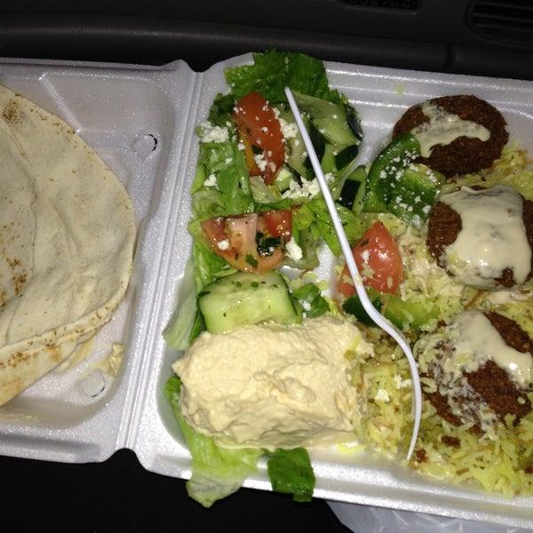 Photo taken at Falafel King by Anita M. on 2/23/2013