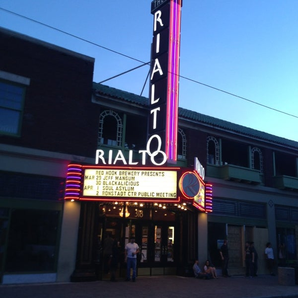 Photo taken at The Rialto Theatre by Kerry D. on 3/30/2013
