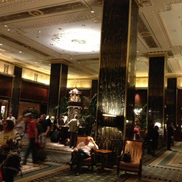 Photo taken at Waldorf Astoria New York by C@n K. on 5/21/2013