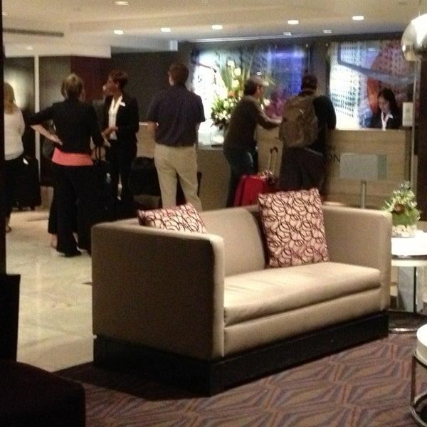 Photo taken at DoubleTree by Hilton Hotel Metropolitan - New York City by C@n K. on 5/23/2013