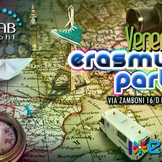 Erasmus Party: Tutti i Venerdì dalle ore 23.00 fino a tarda notte, ragazze e ragazzi provenienti da tutta Europa vi aspettano al Lab16, con Dj Set anni '80 - '90 e tutte le migliori hit del momento.