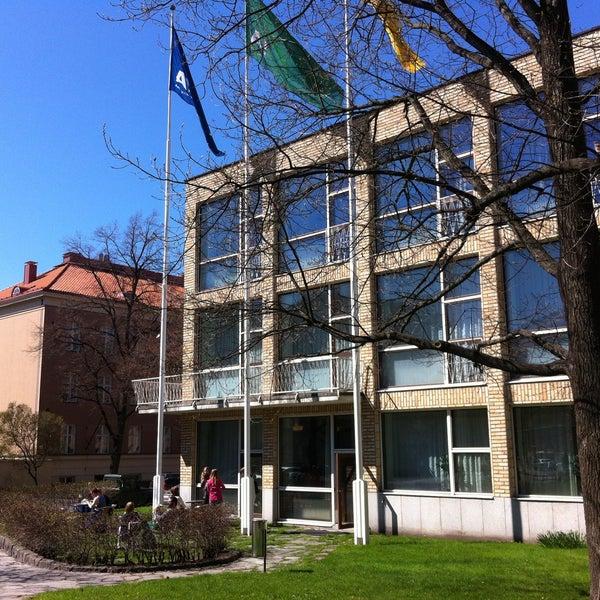 Photo taken at Kauppakorkeakoulu by Olga D. on 6/1/2013