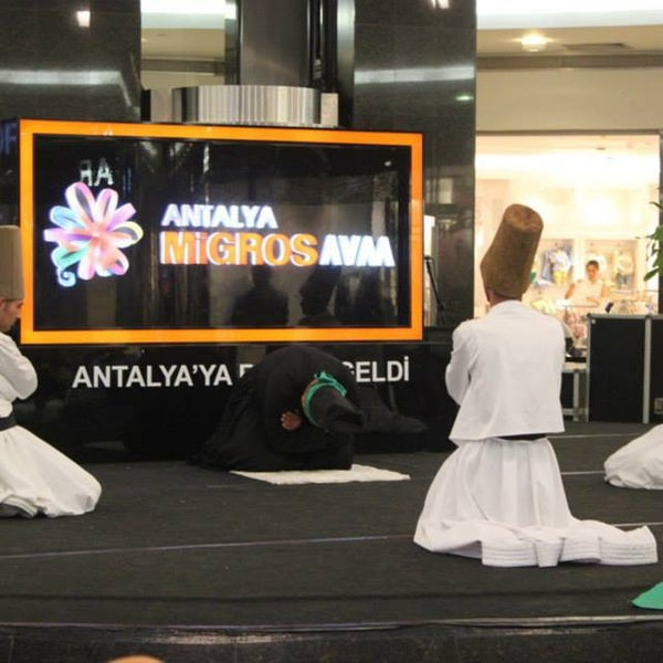 7/24/2013 tarihinde Antalyaziyaretçi tarafından Antalya Migros AVM'de çekilen fotoğraf