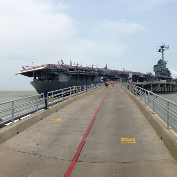 Photo taken at USS Lexington Museum On The Bay by Salem on 5/24/2013