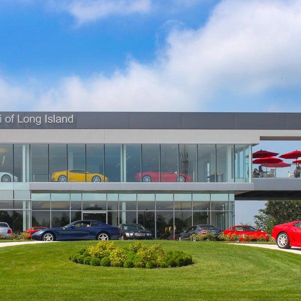Photo Taken At Ferrari Maserati Long Island By Ferrari Maserati Long Island  On 2