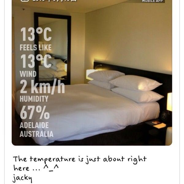 6/16/2013에 Jacky Y.님이 Hilton Adelaide에서 찍은 사진
