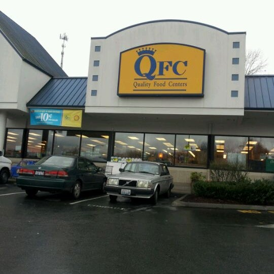 Quality Food Centers (QFC) is a supermarket chain based in Bellevue, Washington, with 64 stores in the Puget Sound region of the state of Washington and in the Portland, Oregon, metropolitan area. QFC is a subsidiary of Kroger.