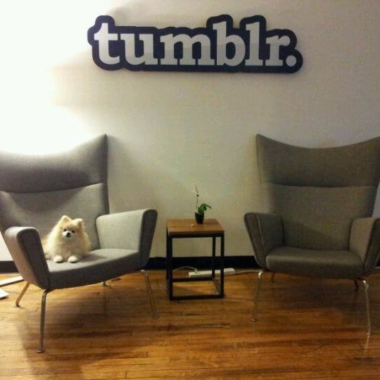 Photo taken at Tumblr HQ by Nick G. on 5/7/2012