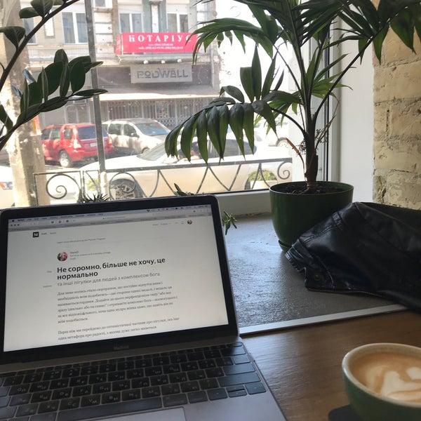 Снимок сделан в First Point Espresso Bar пользователем OlenkO 4/10/2018