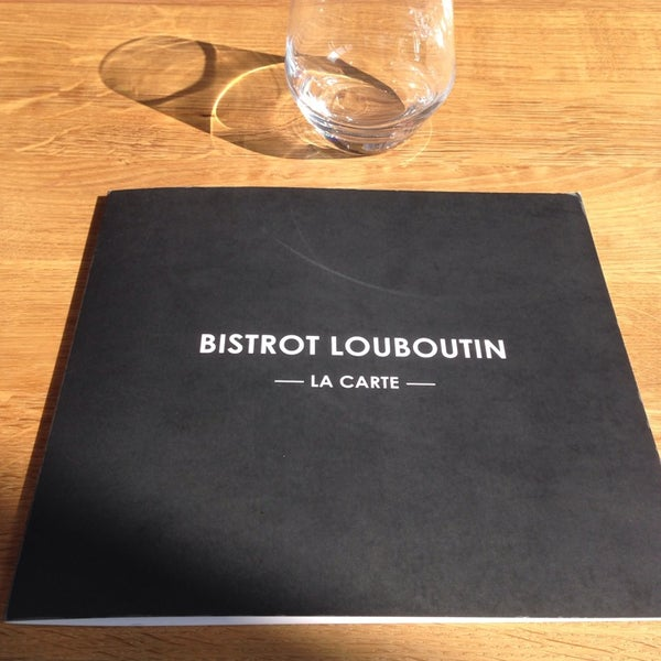 bistrot louboutin angers menu