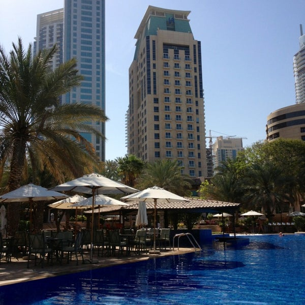 Photo taken at Habtoor Grand Resort, Autograph Collection by Masha G. on 3/27/2013