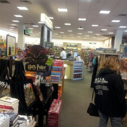 Photo taken at Barnes & Noble by Jason F. on 3/19/2013