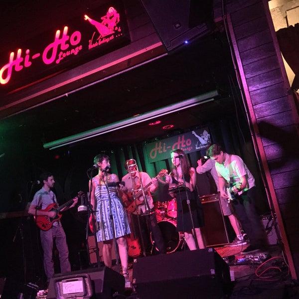 Photo taken at Hi-Ho Lounge by Frank B. on 6/15/2017