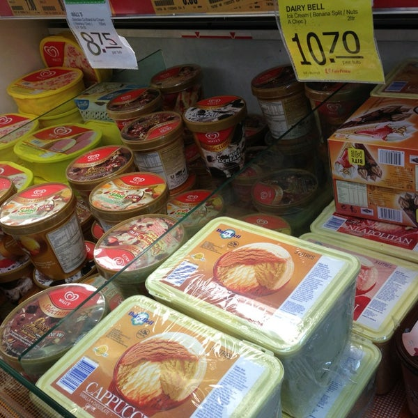 Photo taken at NTUC FairPrice by Stephanie O. on 7/9/2013