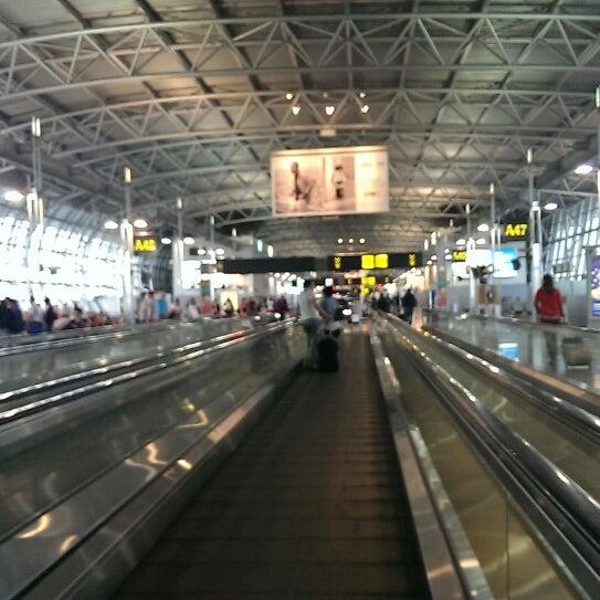 Снимок сделан в Брюссельский аэропорт (BRU) пользователем Faris ™. 6/23/2013