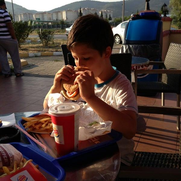Photo taken at Burger King by Özcan G. on 6/16/2013