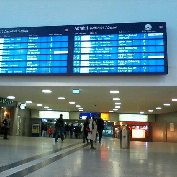 Photo taken at Duisburg Hauptbahnhof by Michael H. on 3/29/2013
